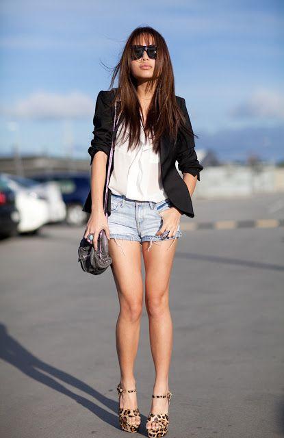 Hora de Diva: Com o usar Short Jeans sem parecer pirigueti!!