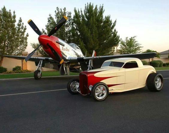 Hot Rod & Mustang