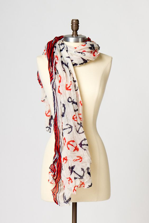 Anchor Me Scarf