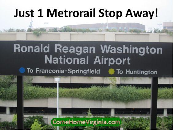 Near Regan National Airport
