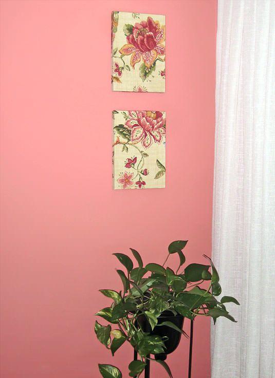 Como hacer cuadros con tela con tapas de cajas cuadros - Hacer cuadros decorativos ...