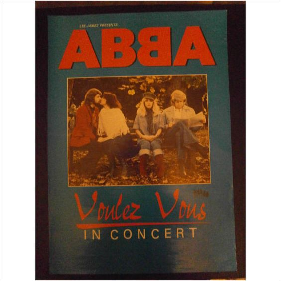 ABBA - Voulez-Vous in concert Tribute Band Promotional poster