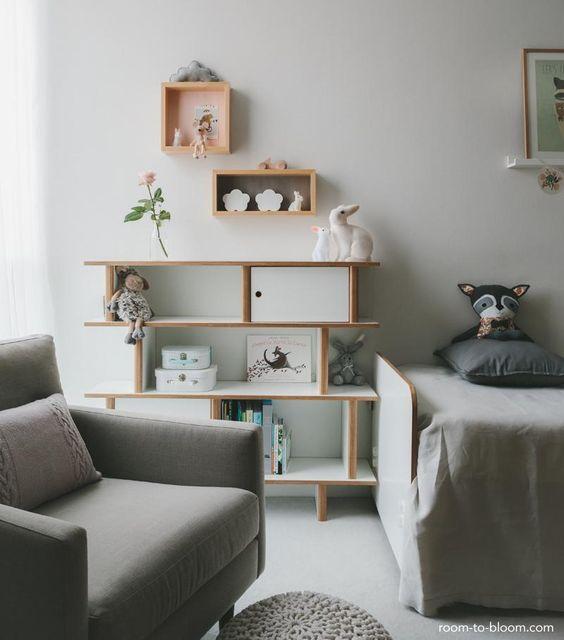 ideas dormitorio infantil decoracin neutra