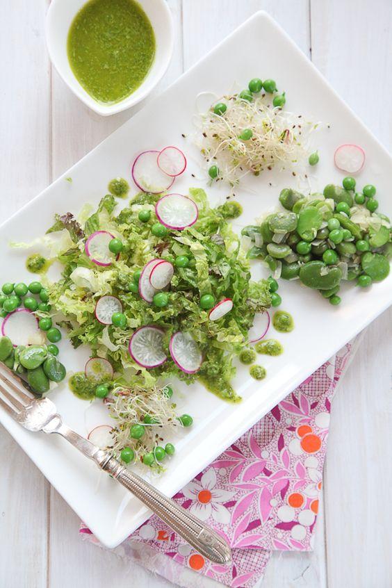 main alkaline balance and more pea salad beans salads fresh bean ...