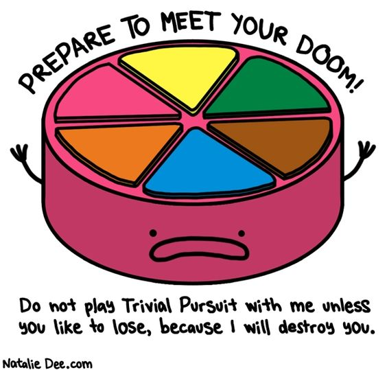 Comic by Natalie Dee: i dont share pie all that pie is mine
