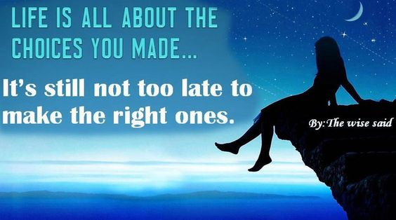 its never too late to become the person u want to be!