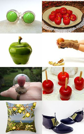 Sinful Apples by Chloe Ching on Etsy--Pinned with TreasuryPin.com