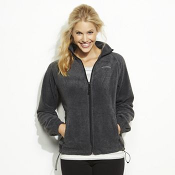 Columbia Sportswear Solid Fleece Jacket - Women's Size: Small ...