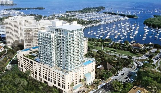 Sonesta Bayfront Hotel: Sonesta Bayfront Hotel is a condo-like stay in Miami's laid-back Coconut Grove neighborhood.  Stay a few days before a cruise....www.SkippingTown.com