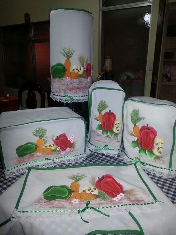 Cobertores de cocina pintados en tela imagenes pintura - Telas de cocina ...