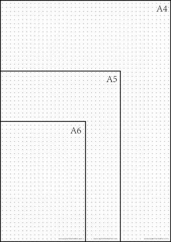 Free Printable Dot Grid Paper For Bullet Journal Bullet Journal