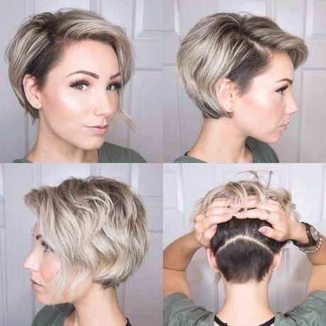 Trendfrisuren Damen 2018 Kurz Pixie Haarschnitt Haarschnitt Pixie Frisur
