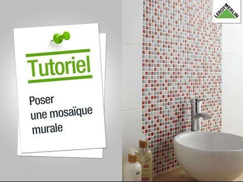 Decouvrir Les Meubles De Salle De Bains Elegance Youtube Parement Mural Comment Poser Du Carrelage Mosaique