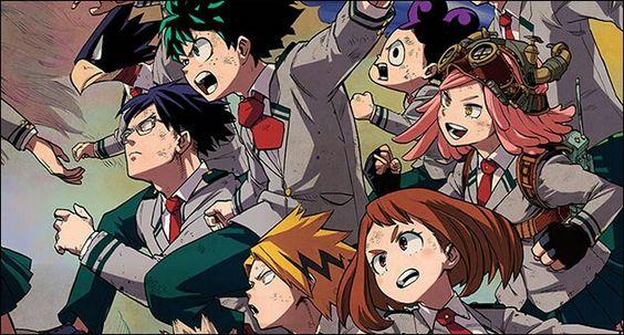 My Hero Academia characters; My Hero Academia