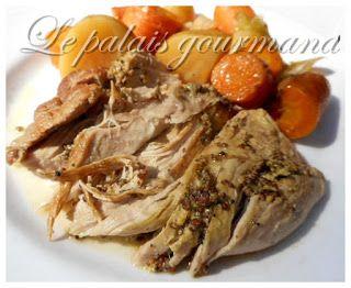 Le palais gourmand: Rôti d'épaule de porc au four