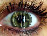 na eye ball: