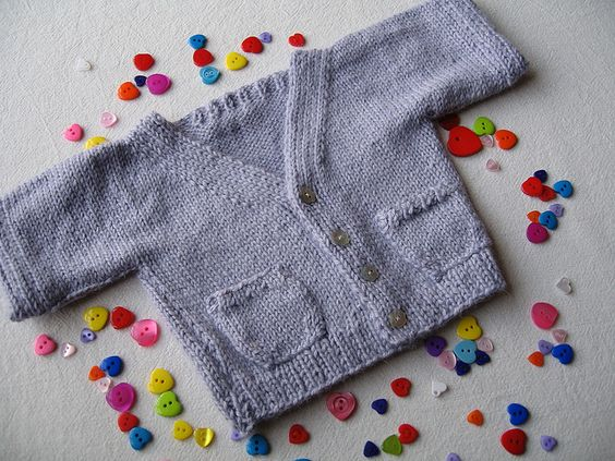 'Special Baby ' cardi by snoopydogknits, via Flickr