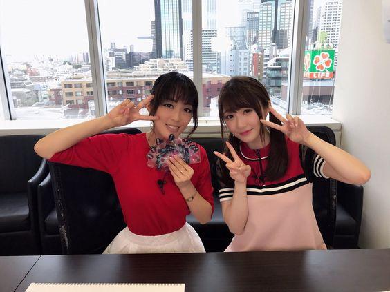 日笠陽子さんと日高里菜さん