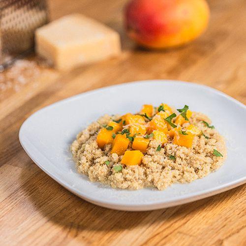 Como Preparar Risotto De Quinoa Con Mango Receta Comida Etnica