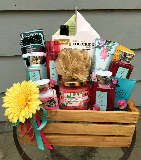 Bath Theme Basket / Diaper Raffle Prize
