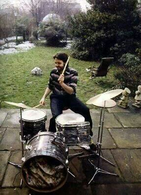 playing drums like a boss