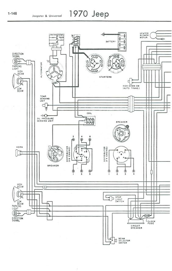 jeep cj5 ignition diagram 1971 jeep cj5 wiring diagram | help with wiring cj5 1969 ...