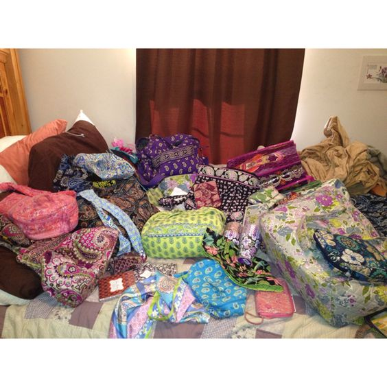 Most of my Vera Bradley collection