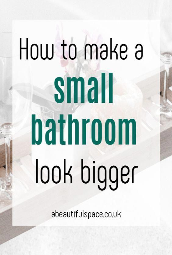 Simple Ways To Make A Small Bathroom Look Bigger Simple Bathroom Design And Decor Tips To Maximise Space Bathroomdecor B Simple Bathroom Designs Small Bathroom Interior Design Living Room