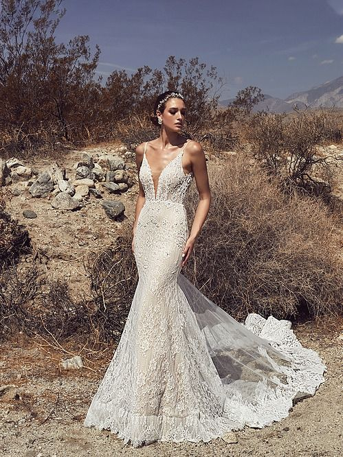Calla Blanche Faith Wedding Dress With Lace Sheath Silhouette Low Back Detail And Illusion Train In 2020 Dresses Bella Bridal Wedding Dresses