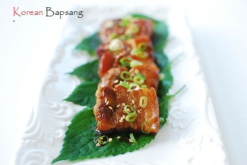 Slow Cooked Pork Belly with Bulgogi Sauce and Giveaway | Korean Bapsang