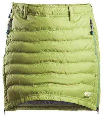Skhoop Short Down Green Skirt