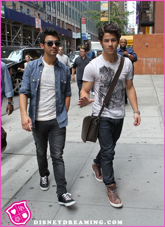 The Jonas Brothers On The Today Show August 20, 2012