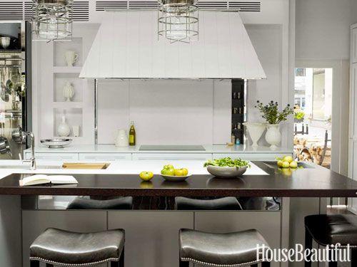#Kitchen of the Month, October 2012. Hidden Storage. Design: Mick De Giulio.