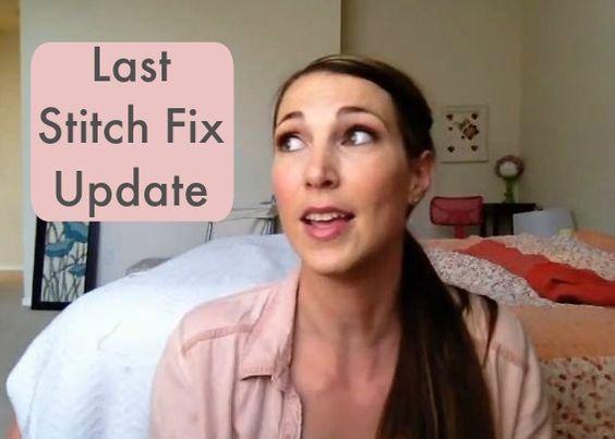 My Stitch Fix Update
