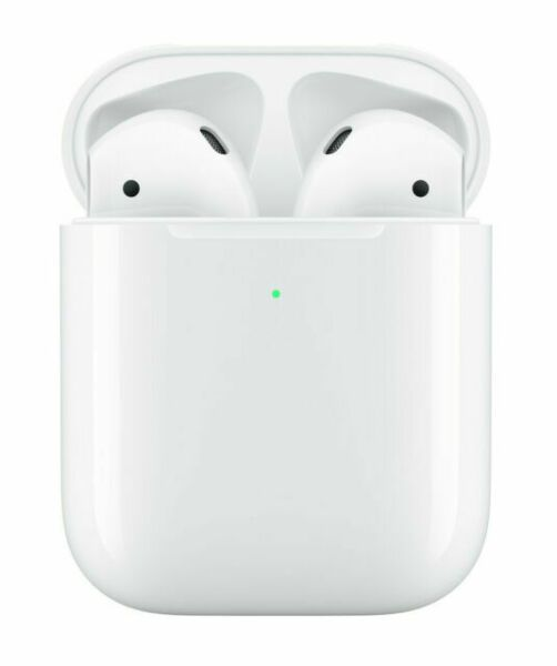 Apple Airpods 2nd Generation With Wireless Charging Case White Mrxj2am A Apple Mrxj2am Airpods Bluetooth Headset Te Apple Airpods 2 Iphone Wireless Wireless