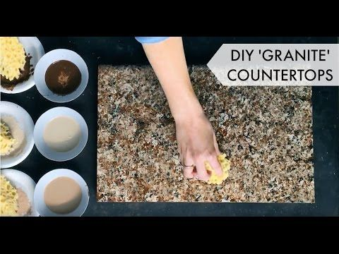 Giani Countertop Paint Chocolate Brown : ... how to paint countertop makeover granite countertops budget chocolate