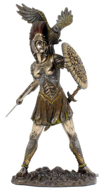 Greek mythology goddess of war greek roman god and goddess statues at the guiding tree i - God and goddess statues ...