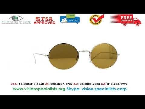 Illesteva Porto Cervo Silver With Gold Mirror Sunglasses Gold Mirror Sunglasses Saint Laurent Sunglasses Oliver Peoples Sunglasses