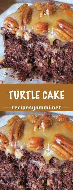Chocolate Turtle Cake Recipe Desserts â™›BOUTIQUE CHICâ™›