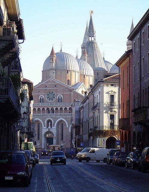 Bela Vista Da Basílica De Sant Antonio Padua Italy Padua Italy Photography