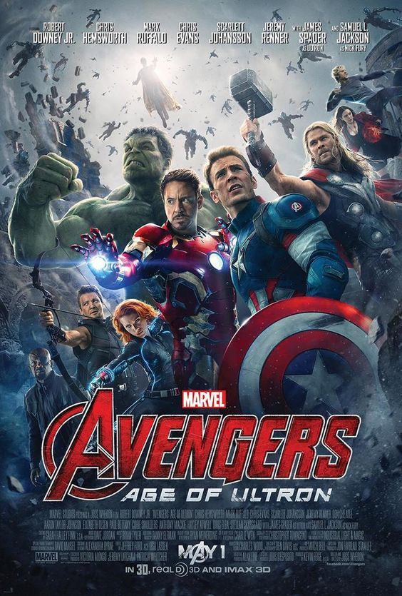 Official Poster for Marvel's AVENGERS: AGE OF ULTRON Debuts — GeekTyrant