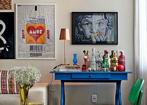 A bar cart can be created from a table - Why the Bar Cart is a Household Champion