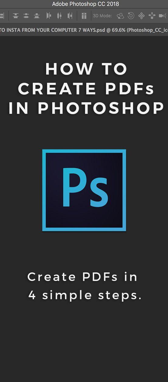 Multi page pdf photoshop