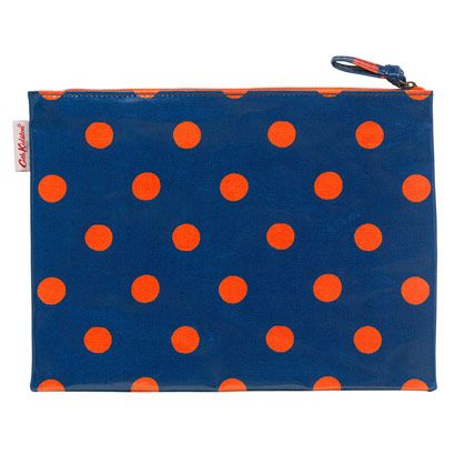 Button Spot Large Zip Purse
