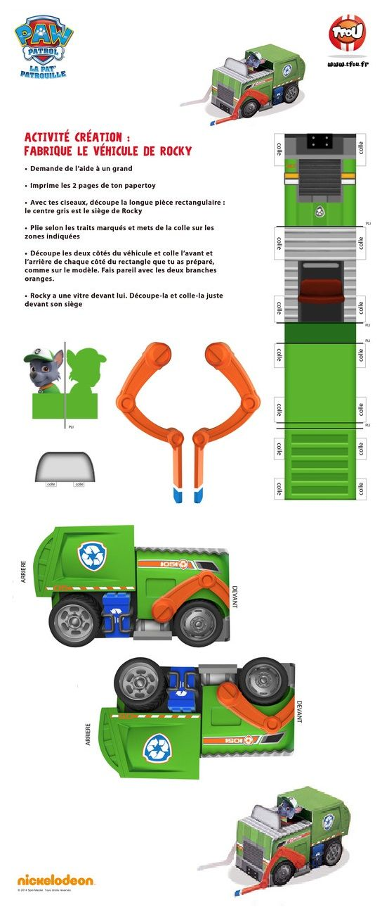 Trucks toys and paper on pinterest - Telecharger tfou gratuitement ...
