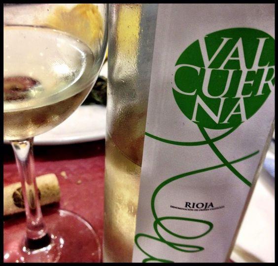 El Alma del Vino.: Valcuerna Bodegas y Viñedos Blanco 2014.
