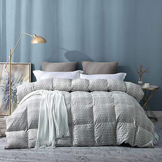 Yxxcd Goose Down Duvet Down Comforter Flappy Soft All Season Regulation Humidity Bedding Quiet Insert Stand Alone Gr Down Comforter Cool Comforters Comforters