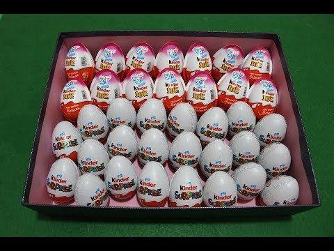 6 بيضات المفاجآت 3 من كندر جوي و 3 من كندر سبرايز العاب بنات و أولاد Best Kids Toys Kids Toys Holiday Decor