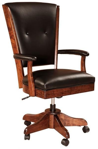 Berkshire Amish Desk Chair Desk Chair Adjustable Office Chair