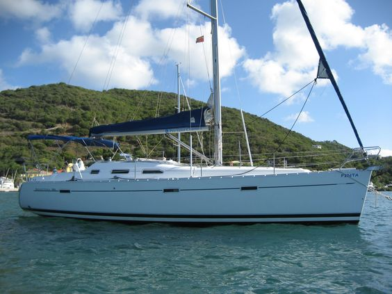 39' Beneteau Oceanis 393 2005 Asking $78,000 todd@bviyachtsales.com Pinta started out as a private vessel and had light usage for her first three years. In 2008 she began charter work with a very nice small charter company & she has had excellent care throughout her career & shows well for her age. Ideal for a family for cruising the Caribbean.  These 393s really sail! They have tons of space & storage. Pinta is attractively priced, especially when you consider good equipment, dinghy, etc.